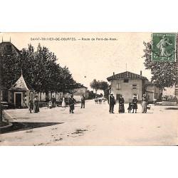 01 - Ain [01] Saint-Trivier-de-Courtes - Route de Pont-de-Vaux.