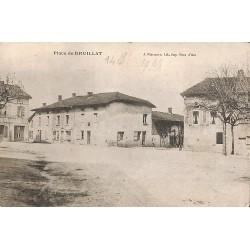 01 - Ain [01] Druillat - Place de Druillat.