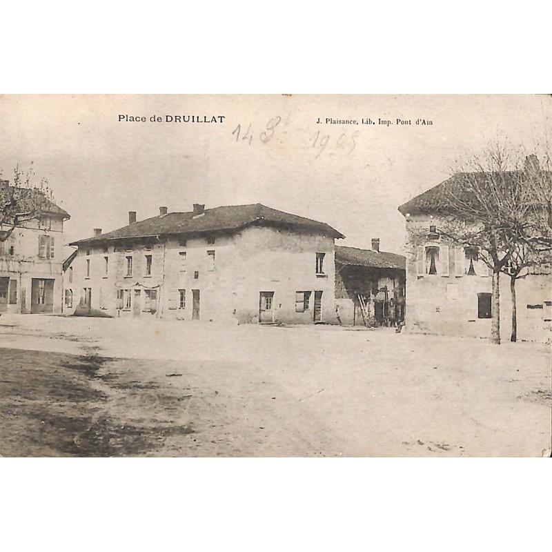 ABAO 01 - Ain [01] Druillat - Place de Druillat.