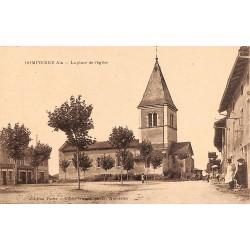 01 - Ain [01] Dompierre - La place de l'Eglise.