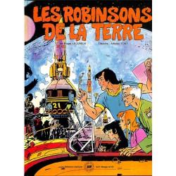 Bandes dessinées Les Robinsons de la Terre 01