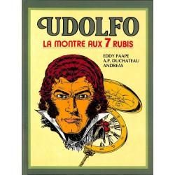 ABAO Bandes dessinées Udolfo, la montre aux 7 rubis