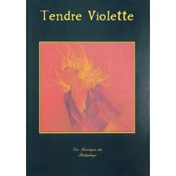 ABAO Bandes dessinées Tendre Violette 04 (5) TL + Portfolio 200 ex. num. & s.