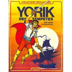 Bandes dessinées Yorik des tempêtes 01 + 02