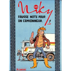 Bandes dessinées Niky 01 + Dédicace