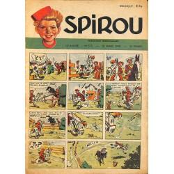 ABAO Bandes dessinées Spirou 1949/03/31 n°572