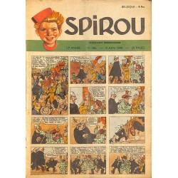 ABAO Bandes dessinées Spirou 1949/06/09 n°582