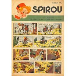 ABAO Bandes dessinées Spirou 1950/04/06 n°625