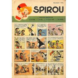 ABAO Bandes dessinées Spirou 1950/06/01 n°633