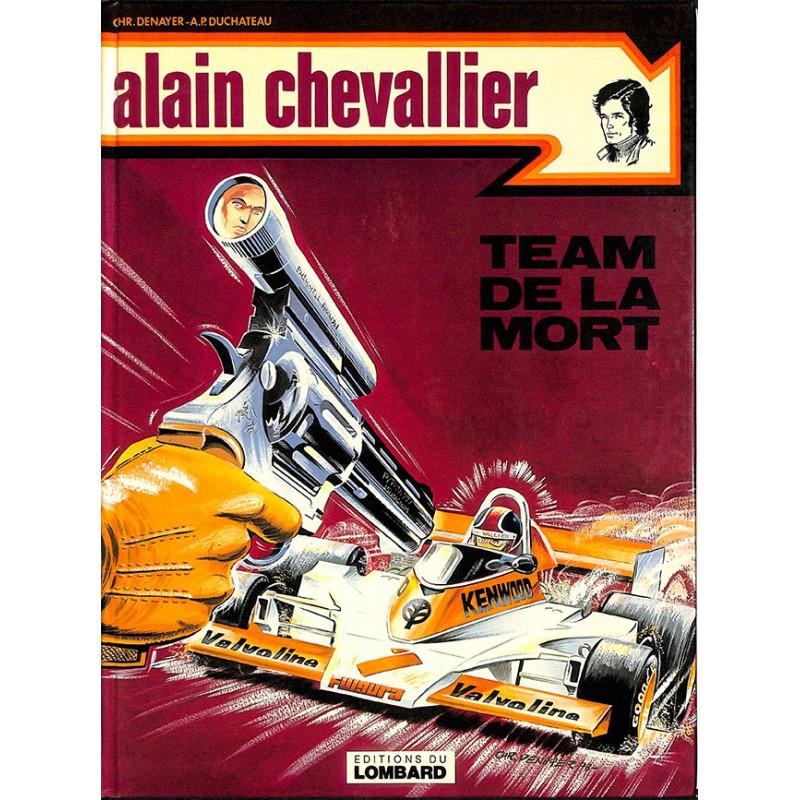 Bandes dessinées Alain Chevallier (2ème série) 02