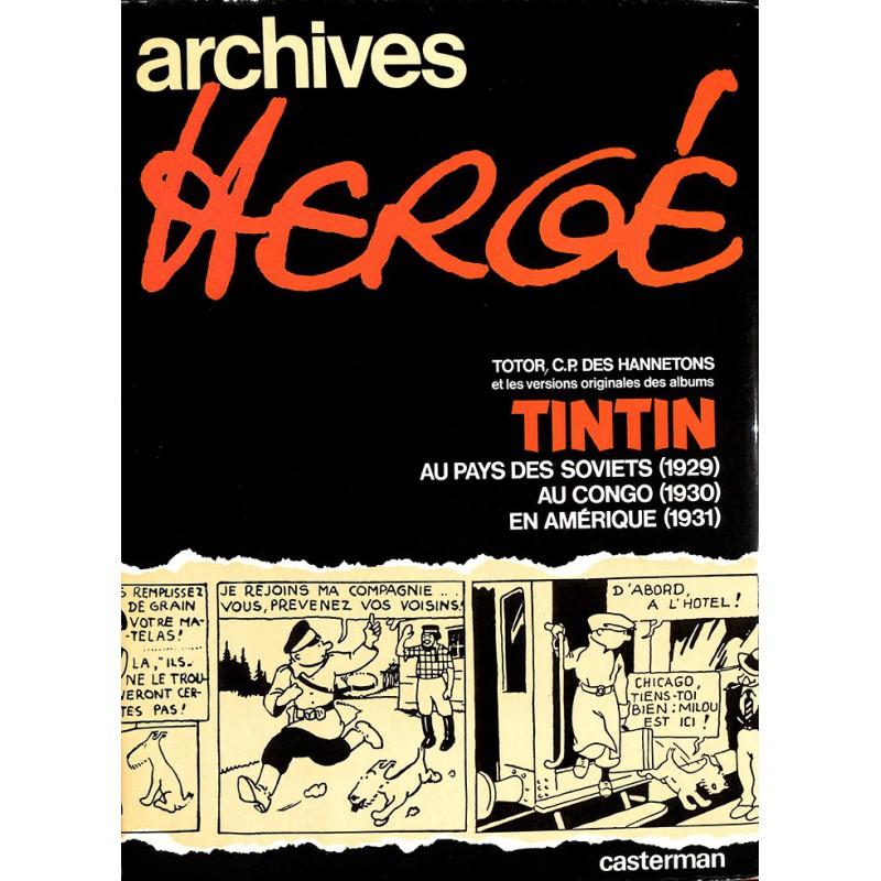ABAO Bandes dessinées Archives Hergé 01