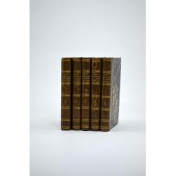 Littérature Valois (Marguerite de) - Contes et nouvelles. 5 tomes.