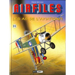 ABAO Bandes dessinées Biggles (Airfiles) Les As de l'aviation 1