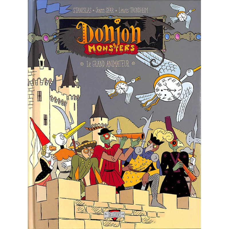 ABAO Bandes dessinées Donjon Monsters 11