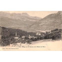 ABAO 74 - Haute Savoie [74] Saint-Gervais-les-Bains - Village de St. Gervais et la Vallée de l'Arve.