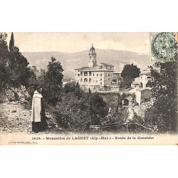 06 - Alpes Maritimes [06] La Trinité - Monastère de Laghet. Route de la Corniche.