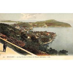 ABAO 06 - Alpes Maritimes [06] Beaulieu-sur-Mer - Le Cap Ferrat et la Pointe de l'Hospice Saint-Jean.