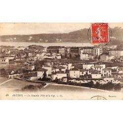 ABAO 06 - Alpes Maritimes [06] Antibes - La Nouvelle Ville et le Cap.