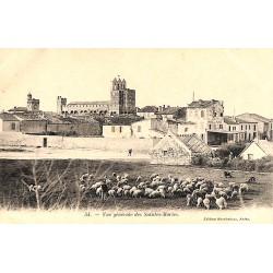 13 - Bouches-du-Rhône [13] Saintes-Maries-de-la-Mer - Vue générale des Saintes-Maries.