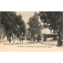 ABAO 13 - Bouches-du-Rhône [13] Berre-l'Étang - La Fontaine et le Boulevard Victor Hugo.