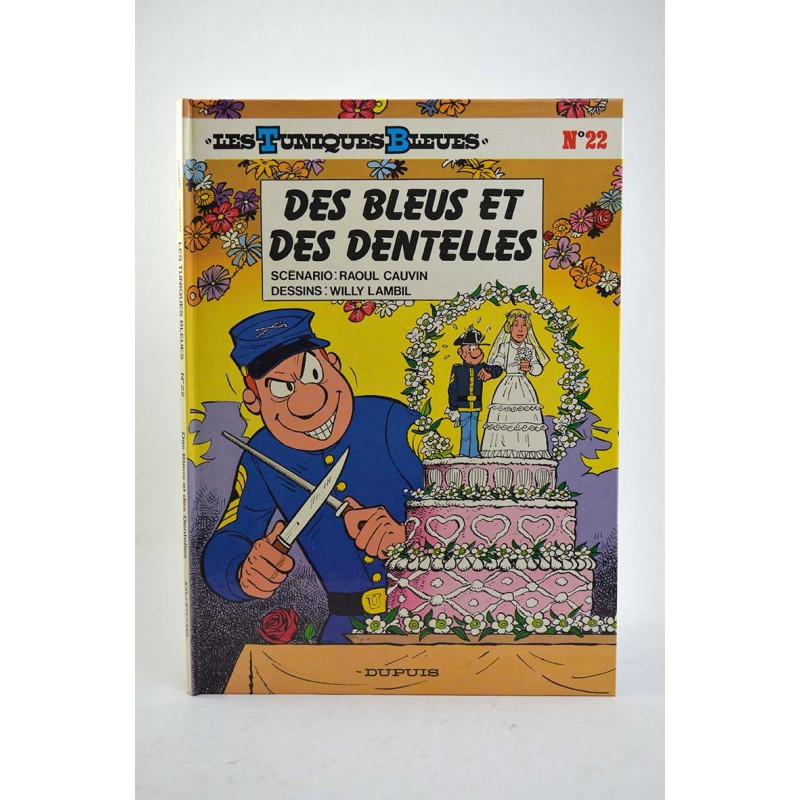 ABAO Bandes dessinées Les Tuniques bleues 22