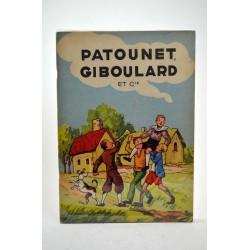 ABAO Bandes dessinées Patounet, Giboulard et cie
