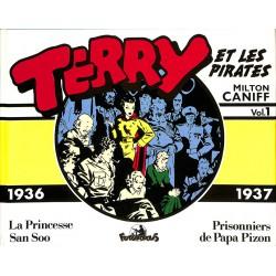 ABAO Bandes dessinées Terry et les pirates (Futuropolis) 01