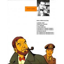 ABAO Bandes dessinées Blake et Mortimer 10 pub Esso
