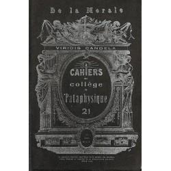 ABAO 1900- Cahiers du Collège de 'Pataphysique 21