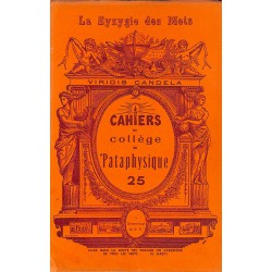 ABAO 1900- Cahiers du Collège de 'Pataphysique 25