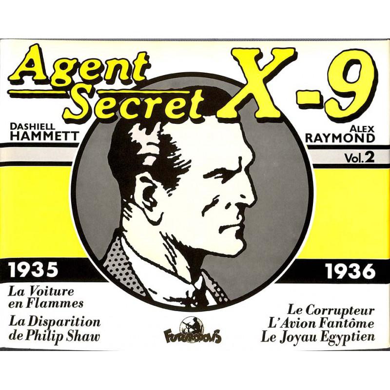 ABAO Bandes dessinées Agent secret X9 (Futuropolis) 02