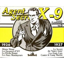 ABAO Bandes dessinées Agent secret X9 (Futuropolis) 03