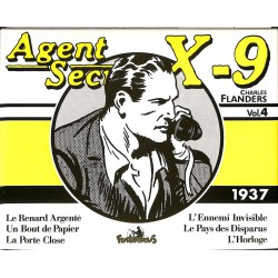 Bandes dessinées Agent secret X9 (Futuropolis) 04
