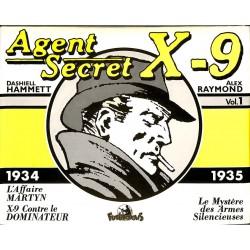 Bandes dessinées Agent secret X9 (Futuropolis) 01