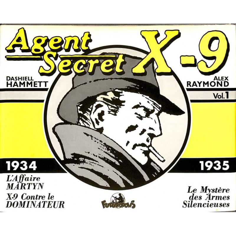 ABAO Bandes dessinées Agent secret X9 (Futuropolis) 01