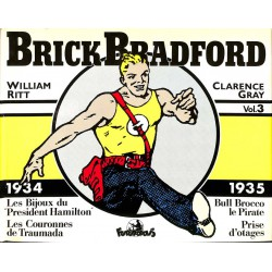 Bandes dessinées Brick Bradford (Futuropolis) 03