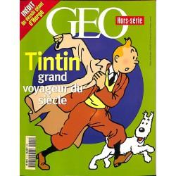 ABAO Bandes dessinées Tintin grand voyageur du siècle (GEO Hors-série)