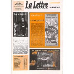 Bandes dessinées La Lettre 039