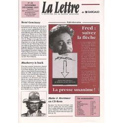 Bandes dessinées La Lettre 038