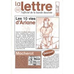 Bandes dessinées La Lettre 059