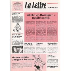 Bandes dessinées La Lettre 032