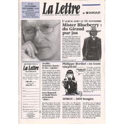 Bandes dessinées La Lettre 026