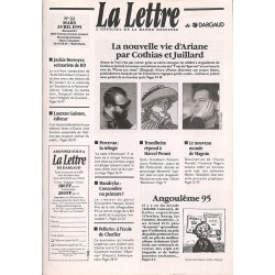Bandes dessinées La Lettre 022