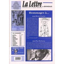 Bandes dessinées La Lettre 048