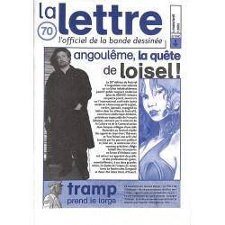 Bandes dessinées La Lettre 070