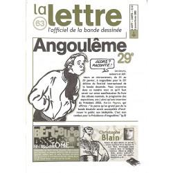Bandes dessinées La Lettre 063