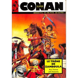 ABAO Bandes dessinées Conan (Super - Mon Journal) 12