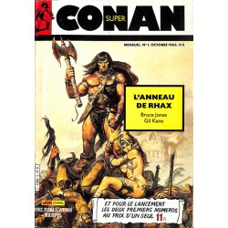 ABAO Bandes dessinées Conan (Super - Mon Journal) 01 - 02