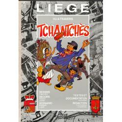 Bandes dessinées Liège vu à travers Tchantchès TT num. & s.