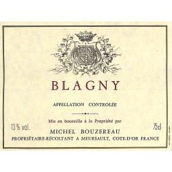 ABAO Etiquettes de vin Blagny - Michel Bouzereau